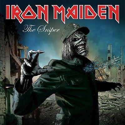 iron maiden artwork | IRON MAIDEN - 'The Sniper' Cover Artwork; The Final Frontier Artwork ...