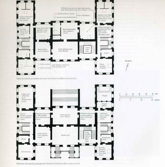 ground and first floor plans and home plans ideas picture
