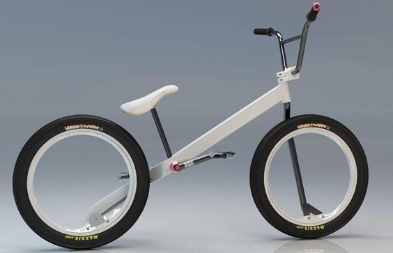 Hubless BMX Concept | Headset Press