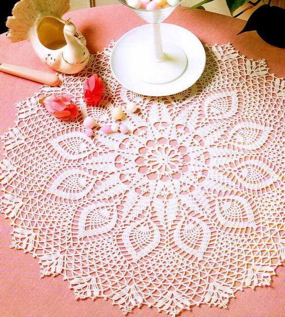 Crochet Art: Crochet Pattern Of Beautiful Doily | Uncinetto crochet ...