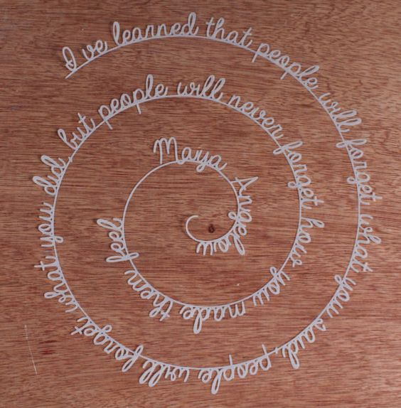 Papercut poem in Vellum ready to frame by ParadisePapercraft