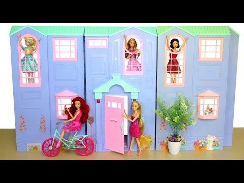 Huge Barbie Toys Holiday Unboxing Doll Grocery Store Ballerina Set Barbie Doll Dress Up Toy Youtube Barbie Dolls Barbie Toys Barbie