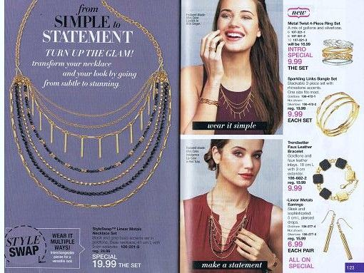 Avon Jewelry Counter from Simple to Statement! Wear it Simple or make a Statement! Go from Subtle to Stunning!