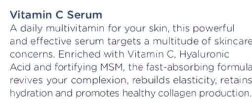 Vitamin C Serum Vitamin C Serum