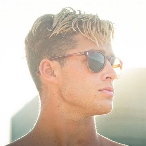 23 Best Men S Hair Highlights 2020 Styles Men Hair Highlights Men Blonde Hair Men Blonde Highlights
