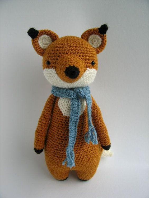 Amigurumi Fox : Fox crochet amigurumi pattern детке pinterest