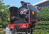 steam locomotive - vietnam, 141206, antique, monument, railroad, train engine, train steam engine, stock photo