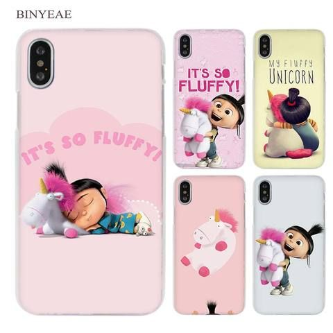 24ee001ce BINYEAE My Unicorn Agnes fashion Clear Cell Phone Case Cover for Apple  iPhone X 6 6s 7 8 Plus 4 4s 5 5s SE 5c
