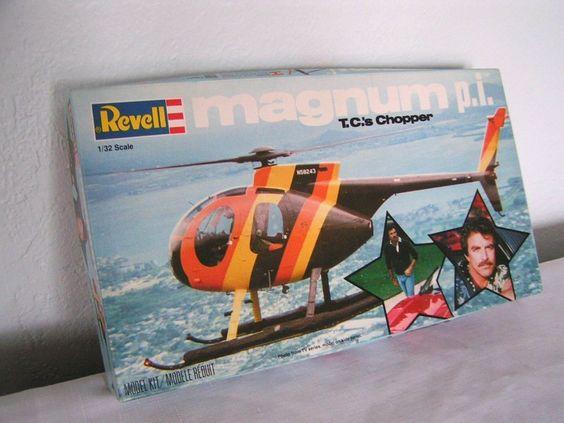 Elicottero Magnum Pi : Vtg unbuilt model car revell magnum pi tc s