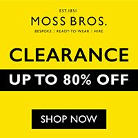 New offers and deals extra 20 off accessories coupon at moss new offers and deals extra 20 off accessories coupon at moss bros shop now get an extra 20 off all accessories when you apply the code at the fandeluxe Choice Image