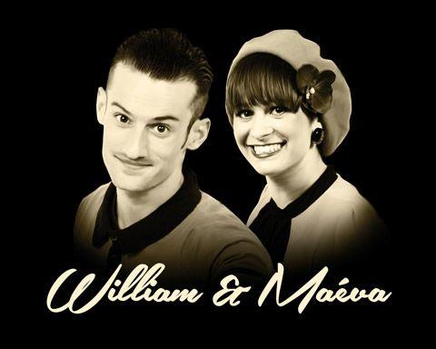 William Mauvais and Maeva Truntzer