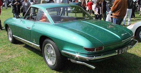 ///KarzNshit///: '63 Alfa Romeo 2600 Coupe Speciale by Pininfarina