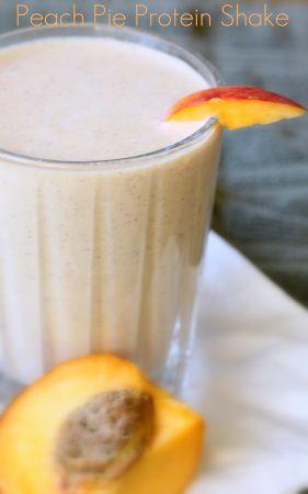 peach pie protein shake 2