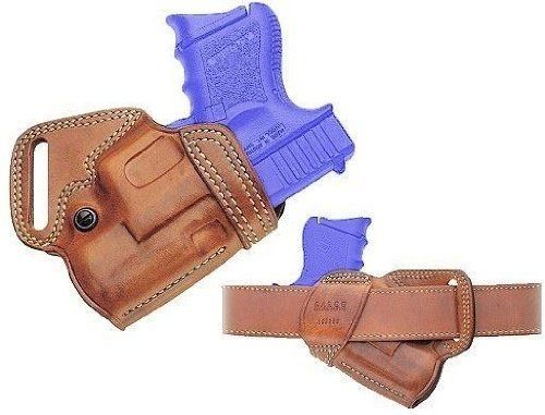 Galco SOB Small Of Back Holster for Glock 30, 29 (Black, Right-hand) by Galco. $85.56. For extended comfort, especially for gun carriers who spend the day on their feet, the S.O.B. (Small Of Back) holster is a superior choice.     Carrying the handgun at the small of the back offers excellent concealment for many, since the covering garment can fall open without revealing the holstered handgun.     Meticulously crafted of the finest materials, this Galco's imp...