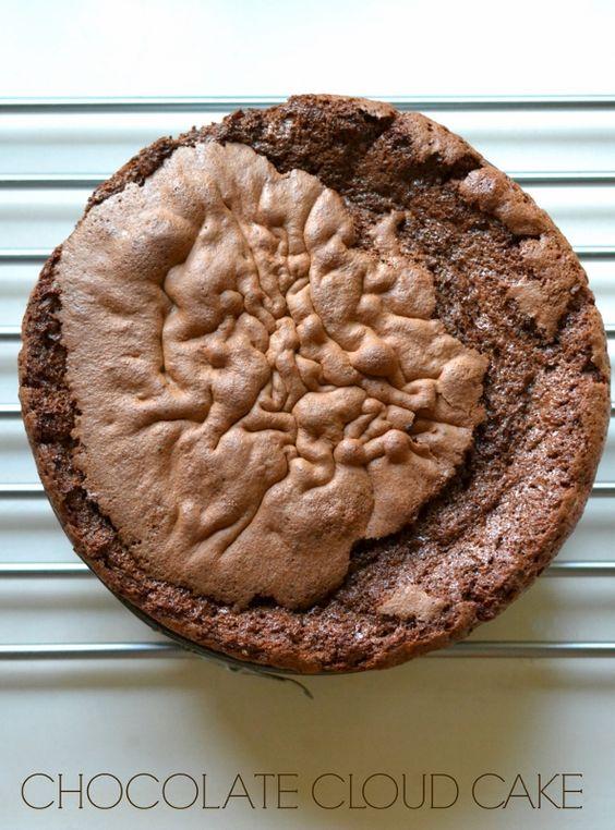 Flourless chocolate cloud cake recipe - Decorator's Notebook (592x800)