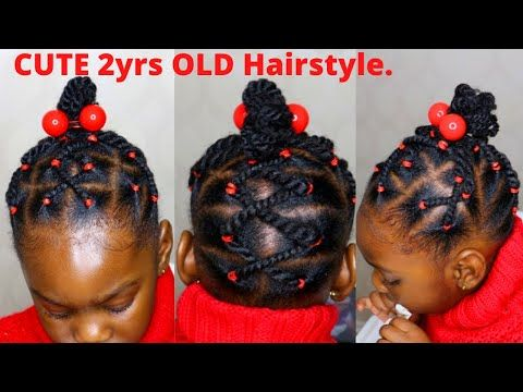 39+ Rubber band hairstyles for black toddlers ideas in 2021