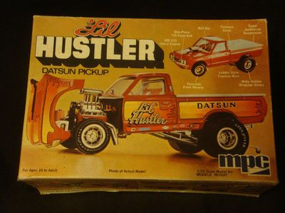 Image result for MPC Datsun 620 build
