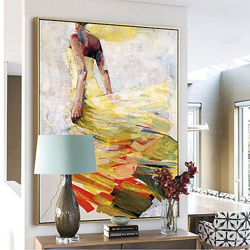 Abstract Oil Painting Wall Art Alloy Material With Frame For Home Decoration Frame Art Bedroom Dining Room Framed Art Bedroom Bedroom Wall Art Cheap Framed Art