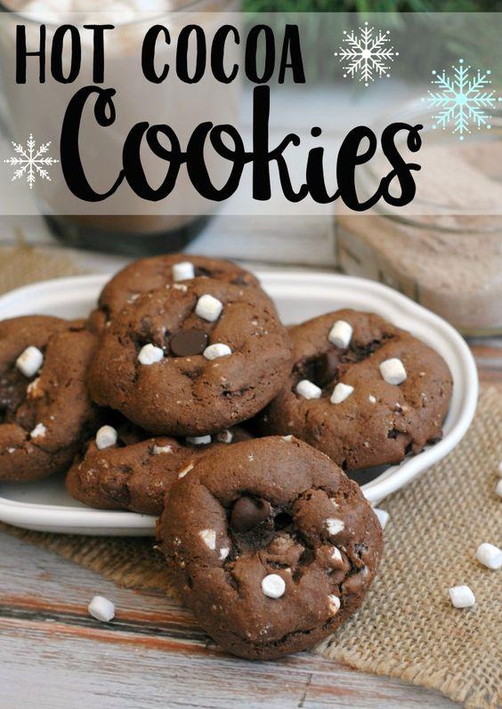 Hot Cocoa Cookies | Recipe | Minis, Cookie recipes and Mini ...