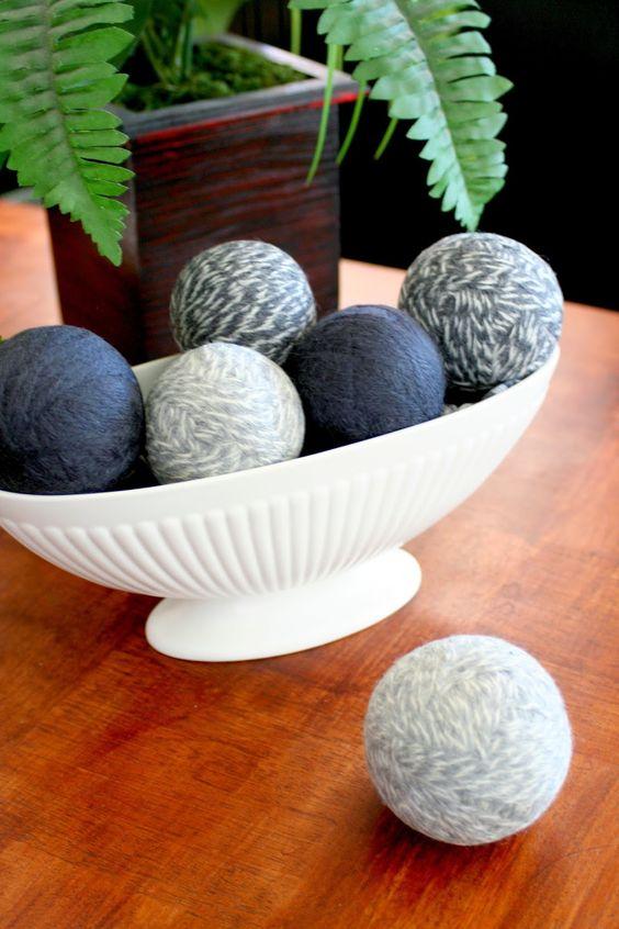 Jordan's Onion: DIY Wool Dryer Balls