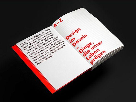 Design im Dasein by adrian meseck, via Behance