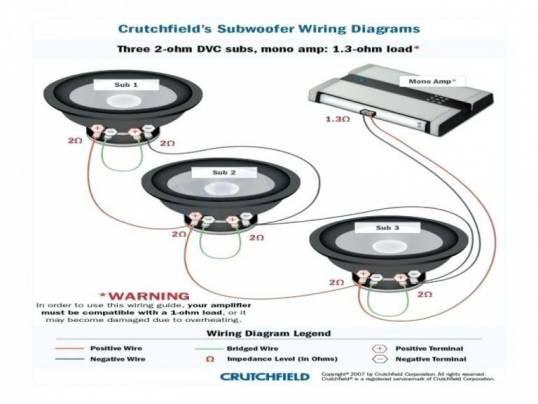 12 Speaker Box Wiring Diagram Subwoofer Wiring Speaker Wire Speaker Box Design