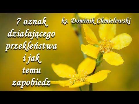 7 Oznak Dzialajacego Przeklenstwa Ks Dominik Chmielewski Youtube Instagram Youtube Faith