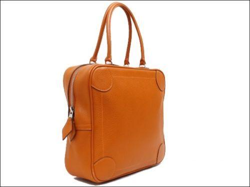 Omnibus PM J Stamped Orange Hand Bag ShoulderBag [0030]
