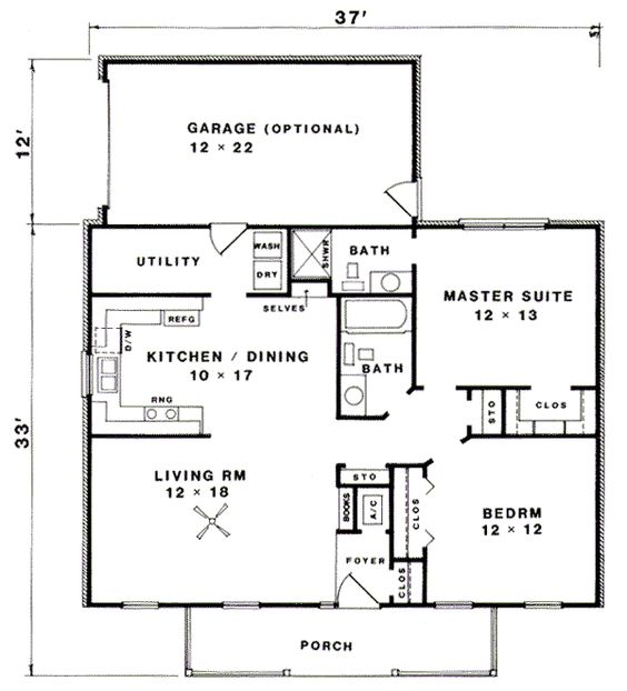 House plans house and cottage house on pinterest for Cottage garage plans