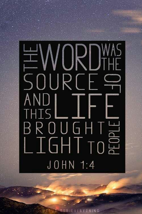 John 1:4 GNT