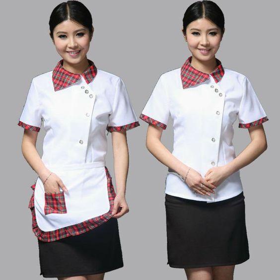 Restaurant uniform 5 12 uniform pinterest for Spa uniform canada