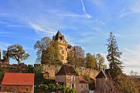 DeMontfort Castle roughly 10km from Sarlat, France