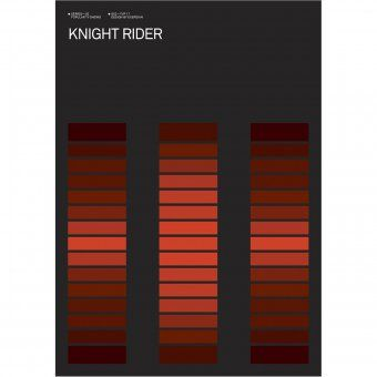 Poster Knight Rider