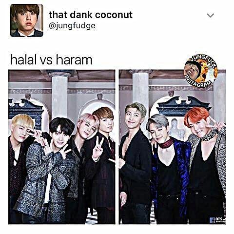 Bts Muslim Jokes Haram Police Muslim Meme Bts Memes Hilarious Kpop Memes Bts