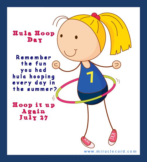 "Join the fun!  "" … I hula hooped all day, every day... It's hard, but it's really fun."" Patina Miller www.miraclecord.com #hulahoop #fun"
