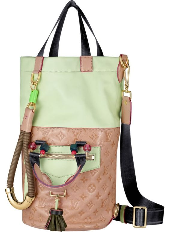 "bagcraze blog: Louis Vuitton ""Monogram Underground"" spring 2010  wait this is so cool, you have so many options!"