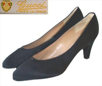 Gucci Black Designer Shoes - classic