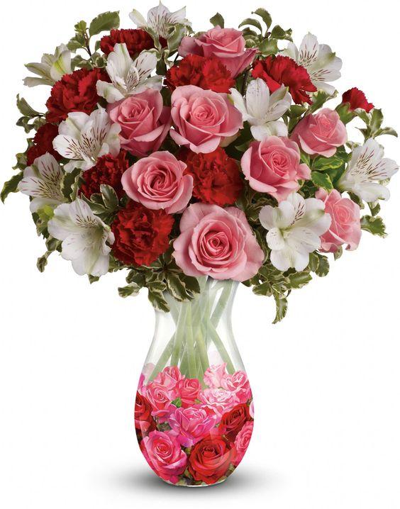 Teleflora's Rosy Posy Bouquet: