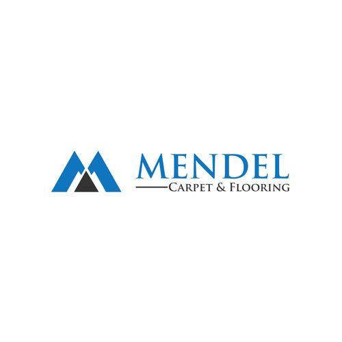 Mendel Carpet Flooring Create A Design To Work Well For A Carpet And Flooring Business Construction Logo Logo Design Logos