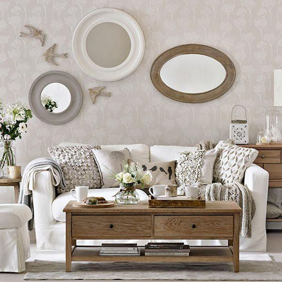 10 feminine living room ideas the shape shabby chic and for Living room ideas laura ashley