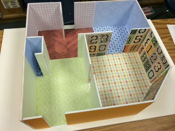 A parent volunteer and i made this sample dream house to for Dream house 3d