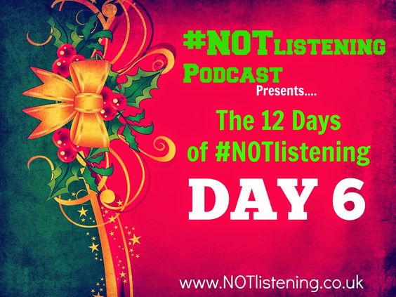 #12DaysofNOTlistening | DAY SIX - #NOTlistening Geese are a Laying!