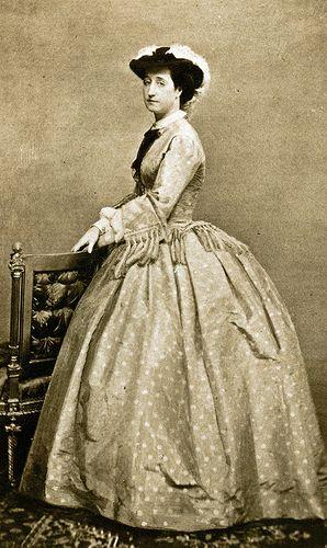 Mayer & Pierson - Empress Eugenie, ca 1860