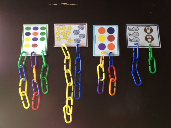 All kinds of options with these jumbo counting links (definitely need to get some of these!)