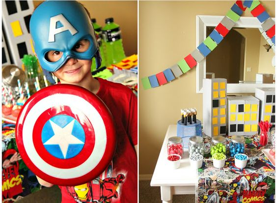 Just Another Day in Paradise: Avenger Assemble: Birthday Party