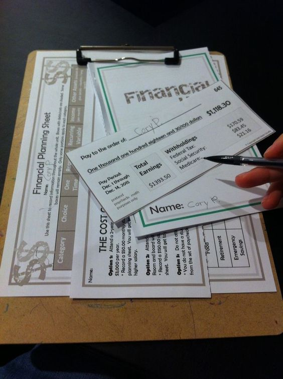 teaching personal finance to teens - cool approach