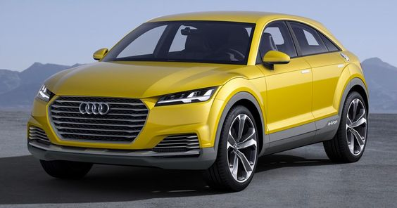 Audi Q4 Trademark Application Hints At Mercedes GLC Coupe, BMW X4 Rival #Audi #Hybrids