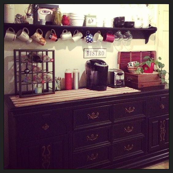 Bar, café and tazas colgantes on pinterest