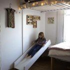 An Instant Guest Bedroom—Made from Canvas : Remodelista