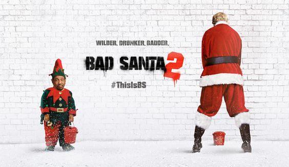 La película de Bad Santa 2 estrena nuevo tráiler. Película navideña con Billy…